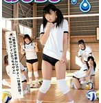 【ファッショナー濃紺ブルマ姿でオシッコを漏らす女子中学生】おもらし体育館