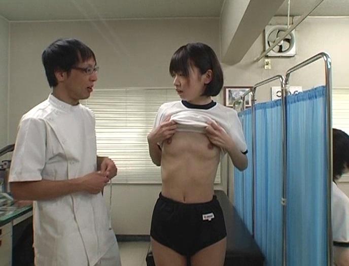 おさわりうぶエロ身体測定 2